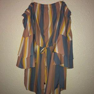 Rainbow Dress XL